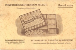 BUVARD EXTRA LABORATOIRES MILLOT COMPRIMES NEOTHORIUM MILLOT LEUCORRHEES ET HYGIENE QUOTIDIENNE - Chemist's