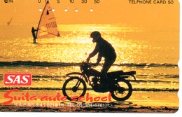 Coucher De Soleil Télécarte Japon Moto Motor Sports - Sport  Phonecard (G 431) - Motos