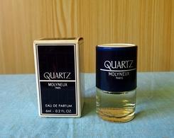 """Miniature """"QUARTZ  """" De MOLYNEUX  Eau De Parfum  6 Ml Dans Sa Boîte (M076) - Miniatures Modernes (à Partir De 1961)"""