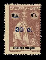 ! ! Mozambique - 1921 Ceres OVP 30 C - Af. 239 - MH - Mozambique