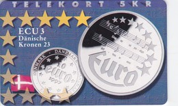 Denmark, P 164, Ecu - Denmark, Mint, Only 700 Issued, 2 Scans.  Please Read - Denmark