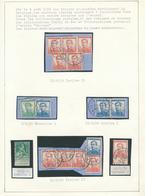 500/27 - PREMIERS JOURS DE GUERRE - Page D'Album 16 Timbres Pellens - Cachets Du 7/8/14 Au 20/8/14 - WW I