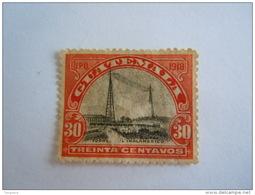 Guatemala 1918-19  Série Courante Pylônes De La Radio Yv 163 O - Guatemala