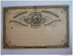 Guatemala Entier Postal Stationary Cartas Postales - Guatemala