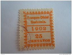 Guatemala 1902 Service Dienst Yv 5 O - Guatemala