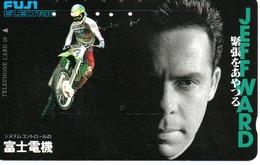 Télécarte Japon Moto Motor Sports - Sport  Phonecard (G 436) - Motos