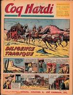 """Bande Dessinée Hebdomadaire """"COQ HARDI"""" - 13 Numéros -  Du 3 Juin 1954 Au 26 Août 1954 - Lotti E Stock Libri"""