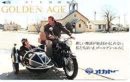 Side Car Télécarte Japon Moto Motor Sports - Sport  Phonecard (G 437) - Motos