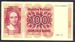 Norway 100 Kroner 1994 UNC P- 43e - Norwegen
