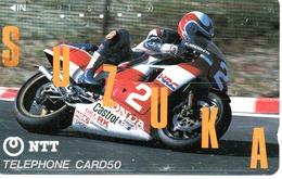 Télécarte Japon Moto Motor Sports - Sport  Phonecard (G 439) - Motos