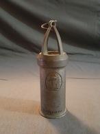 Pub Pour La Potasse D'Alsace (Cigogne) - Lampe De Mineur Miniature - Etablissements Azur - Advertising
