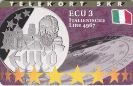 Denmark, P 217, Ecu - Italy, Mint, Only 800 Issued, 2 Scans.  Please Read - Denmark