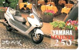 Yamaha Télécarte Japon Moto Motor Sports - Sport  Phonecard (G 441) - Motos