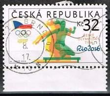 Tschechien 2016, Michel# 889 O Czech Olympic Team - Gebraucht