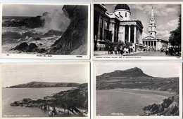 24 AK GROSSBRITANIEN, Karten In Kleinformat, 1910-1955, Teilweise Frankiert, Seltene Motivkarten, Gebrauchte Gute ... - Ansichtskarten