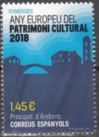 Andorra Español 2018 Patrimoine Culturel Neuf ** - Andorre Espagnol