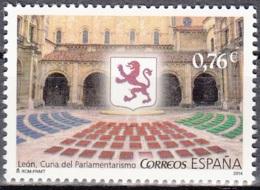 España 2014 León Ville Naissance De La Parlementarisme Neuf ** - 1931-Aujourd'hui: II. République - ....Juan Carlos I