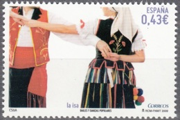 España 2009 Danse La Isa Neuf ** - 1931-Aujourd'hui: II. République - ....Juan Carlos I