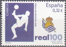 España 2009 Michel 4439 Neuf ** Cote (2010) 0.70 Euro 100 Ans Real Société De Football - 1931-Aujourd'hui: II. République - ....Juan Carlos I