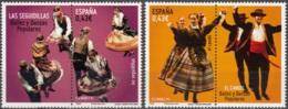 España 2009 Michel 4446 - 4447 Neuf ** Cote (2010) 1.80 Euro Danse El Candil Et Las Seguidillas - 1931-Aujourd'hui: II. République - ....Juan Carlos I