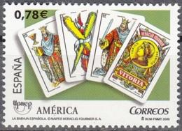 España 2009 Michel 4453 Neuf ** Cote (2010) 1.60 Euro UPAEP Jeux De Cartes - 1931-Aujourd'hui: II. République - ....Juan Carlos I