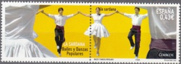 España 2009 Michel 4455 Neuf ** Cote (2010) 0.90 Euro Danse La Sardana - 1931-Aujourd'hui: II. République - ....Juan Carlos I