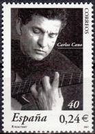 España 2001 Michel 3676 Neuf ** Cote (2008) 0.50 Euro Carlos Cano - 1931-Aujourd'hui: II. République - ....Juan Carlos I