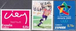 España 2005 Michel 4038 - 4040 Neuf ** Cote (2008) 3.10 Euro Sport - 1931-Aujourd'hui: II. République - ....Juan Carlos I