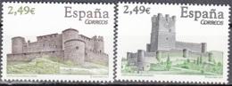 España 2007 Michel 4254 - 4255 Neuf ** Cote (2008) 10.00 Euro Châteaux De Almenar Et Villena - 1931-Aujourd'hui: II. République - ....Juan Carlos I