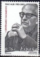España 2003 Michel 3851 Neuf ** Cote (2008) 1.50 Euro Ecrivain Max Aub - 1931-Aujourd'hui: II. République - ....Juan Carlos I