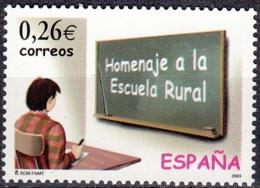 España 2003 Michel 3835 Neuf ** Cote (2008) 0.50 Euro Les écoles Rurales - 1931-Aujourd'hui: II. République - ....Juan Carlos I