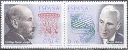 España 2003 Michel 3820 - 3821 Neuf ** Cote (2008) 2.50 Euro Prix Nobel Pour La Médecine - 1931-Aujourd'hui: II. République - ....Juan Carlos I