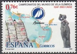 España 2003 Michel 3876 Neuf ** Cote (2008) 1.50 Euro Championnats Des Voiliers à Cádiz - 1931-Aujourd'hui: II. République - ....Juan Carlos I