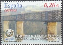 España 2003 Michel 3822 Neuf ** Cote (2008) 0.50 Euro Pont De Tui - 1931-Aujourd'hui: II. République - ....Juan Carlos I