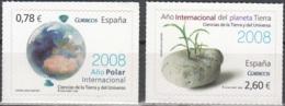 España 2008 Michel 4292 - 4293 Neuf ** Cote (2008) 6.80 Euro Année Polaire Et De La Terre - 1931-Aujourd'hui: II. République - ....Juan Carlos I