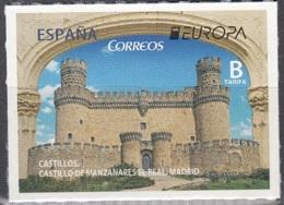 España 2017 Europa CEPT Château De Manzanares Neuf ** - 1931-Aujourd'hui: II. République - ....Juan Carlos I