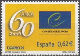 España 2009 60 Ans Conseil De L'Europe Neuf ** - 1931-Aujourd'hui: II. République - ....Juan Carlos I