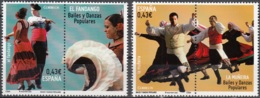 España 2009 Danse El Fandango Et La Muñeira Neuf ** - 1931-Aujourd'hui: II. République - ....Juan Carlos I