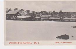 Old Pc Liberia Monrovia From River - Liberia