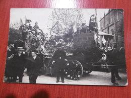 D 50 - Ducey - Cavalcade - Carte Photo - Dragons - Ducey