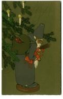 MEISSNER & BUCK 1910s POSTCARD - SANTA CLAUS & TOYS - SERIE 2486 B (BG1101) - Altre Illustrazioni