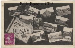 27 - Souvenir De ROSAY - Multivues ++++ G. André, Vernon ++++ 1935 ++++ - France