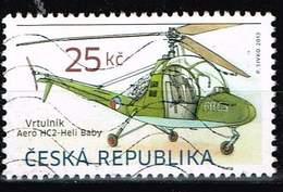 Tschechien 2013, Michel# 757 O Helicopter Aero HC2 - Heli Baby - República Checa