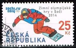 Tschechien 2014, Michel# 795 O Winter Olympic Games In Sochi 2014, Snowboarder - República Checa