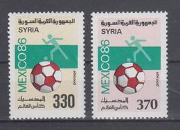 SYRIA 1986 FOOTBALL WORLD CUP - Fußball-Weltmeisterschaft