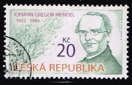 Tschechien 2012,, Michel# 715 O Johann Gregor Mendel (1822 - 1884) - Tschechische Republik