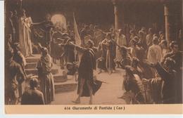 6-Storia Dell' Italia-Il Giuramento Di Pontida-Nuova-Piccolo Formato-Primi 900 - Storia