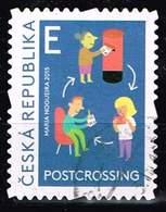 Tschechien 2015,, Michel# 857 O Postcrossing - Czech Republic