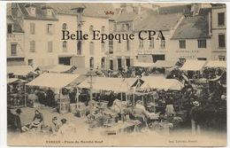 27 - ÉVREUX - Place Du Marché Neuf ++++ Imp. Laruelle, Évreux ++++ 1905 ++++ - Evreux