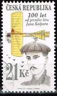 Tschechien 2011,, Michel# 686 O 100 Years Since The First Public Flight By Jan Kašpar - Czech Republic